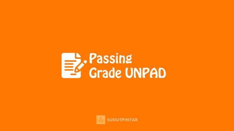 Passing grade UNPAD