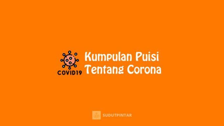 Puisi Tentang Corona